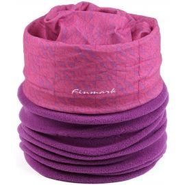 Finmark DĚTSKÝ MULTIFUNKČNÍ ŠÁTEK S FLÍSEM - Dětský multifunkční šátek s fleecem