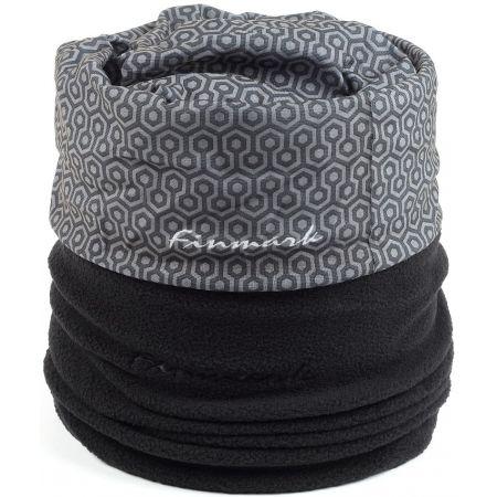 Multifunkční šátek s fleecem - Finmark MULTIFUNKČNÍ ŠÁTEK S FLÍSEM b33bbbfcaf