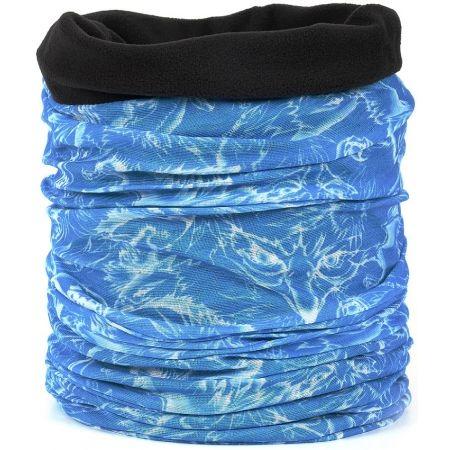 Dětský multifunkční šátek s fleecem - Finmark DĚTSKÝ MULTIFUNKČNÍ ŠÁTEK