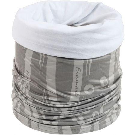 4166caceca5 Multifunkční šátek s fleecem - Finmark MULTIFUNKČNÍ ŠÁTEK