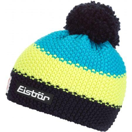 Children's bobble hat - Eisbär STAR NEON POM MÜ SP KIDS