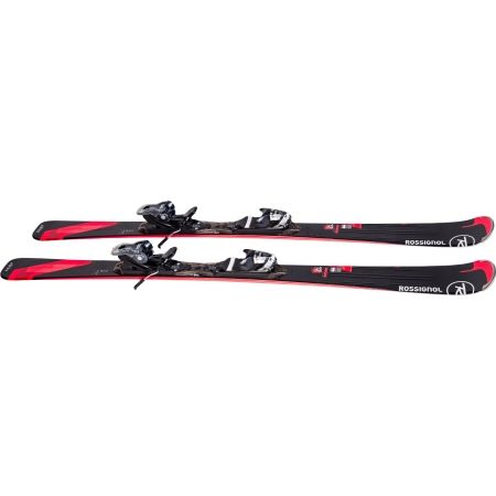 Dámske zjazdové lyže - Rossignol UNIQUE 12 + XPRESS 10 - 4