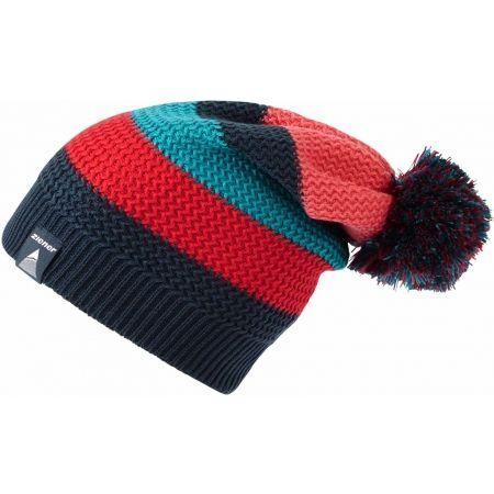 Плетена шапка - Ziener ILAY BLACK