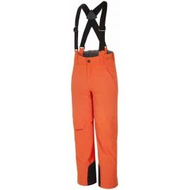Ziener ANDO ORANGE - Pantaloni ski copii