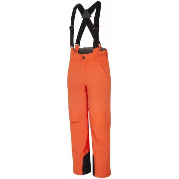 Ziener ANDO ORANGE - Detské lyžiarske nohavice