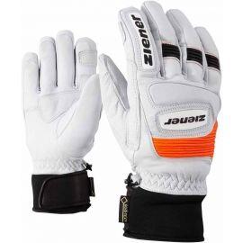 Ziener GUARD GTX + Gore grip PR WHITE - Mănuși de ski