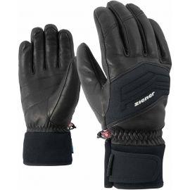Ziener GOWON AS PR BLACK - Pánske lyžiarske rukavice