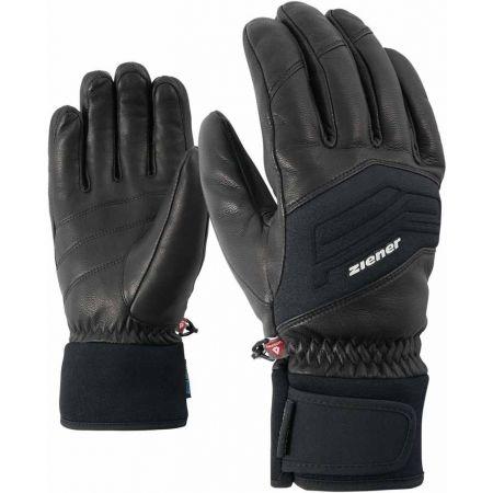 Pánské lyžařské rukavice - Ziener GOWON AS PR BLACK f8ca1c48f8