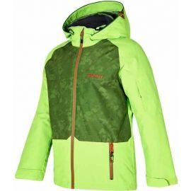 Ziener AFELIX ORANGE - Dětská lyžařská bunda