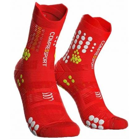 Compressport RACE V3.0 TRAIL - Șosete alergare