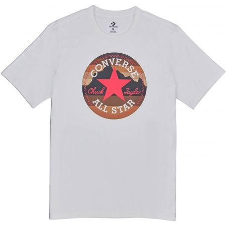 Herren T-Shirt - Converse MOUNTAIN CHUCK PATCH TEE