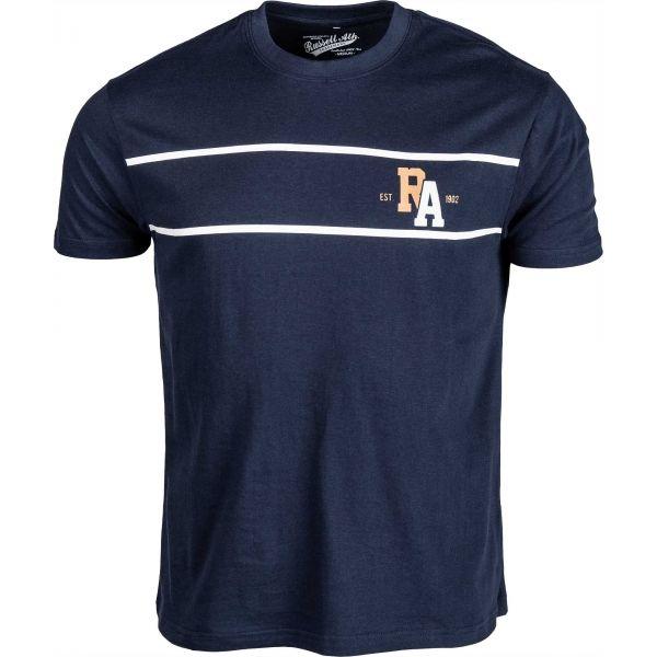 Russell Athletic KOSZULKA MĘSKA granatowy XXL - Koszulka męska