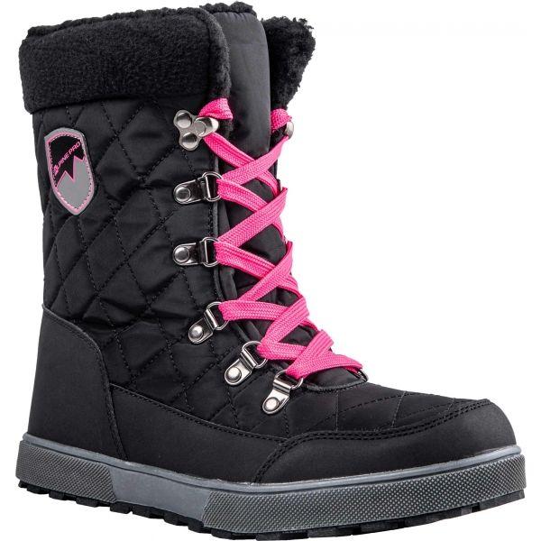 ALPINE PRO ARYNA černá 38 - Dámská zimní obuv