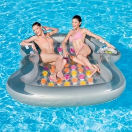Bestway DOUBLE DESIGN - 2-Person Inflatable Lounger - Bestway