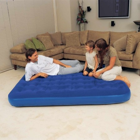 QUEEN FLOCKED MAT - Inflatable mattress - Bestway QUEEN FLOCKED MAT