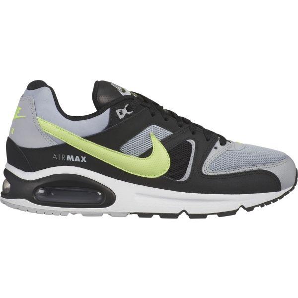 Nike AIR MAX COMMAND fekete 9 - Férfi szabadidőcipő