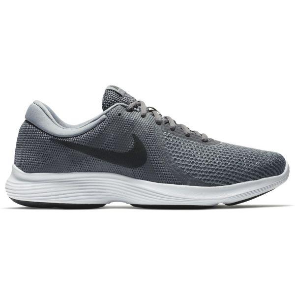 Nike REVOLUTION 4 šedá 11.5 - Pánská běžecká obuv