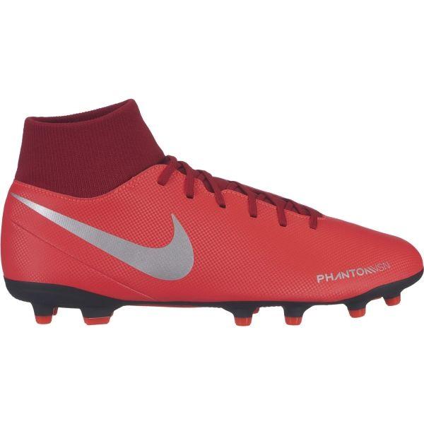 Nike PHANTOM VISION CLUB DYNAMIC FIT FG červená 8 - Pánské lisovky