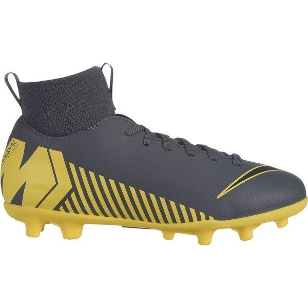 Nike JR MERCURIAL SUPERFLY VI CLUB MG žlutá 5Y - Dětské kopačky
