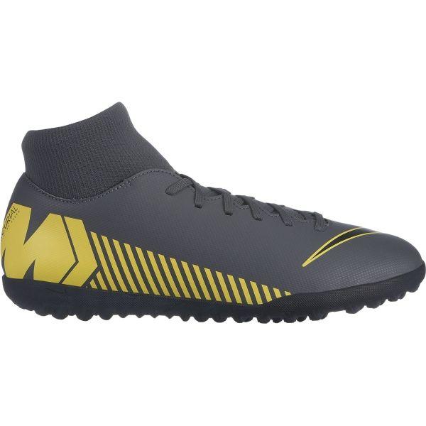 Nike MERCURIALX SUPERFLY VI CLUB TF žlutá 8 - Pánské turfy