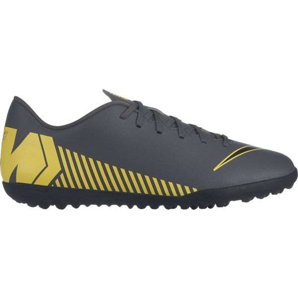 Nike MERCURIALX  VAPOR 12 CLUB TF šedá 10 - Pánské turfy