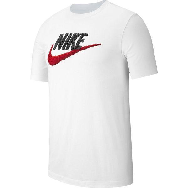 Nike NSW TEE BRAND MARK M bílá L - Pánské tričko