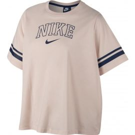 Nike NSW TOP SS VRSTY PLUS - Damen T-Shirt