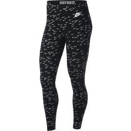Nike SPORTSWEAR LEGASEE LGGNG AOP SWSH - Dámské legíny
