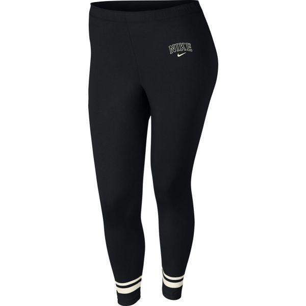Nike NSW LGGNG VRSTY PLUS SIZE - Dámske legíny