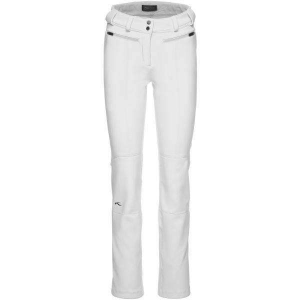 Kjus WOMEN SELLA JET PANTS bílá 38 - Dámské lyžařské kalhoty