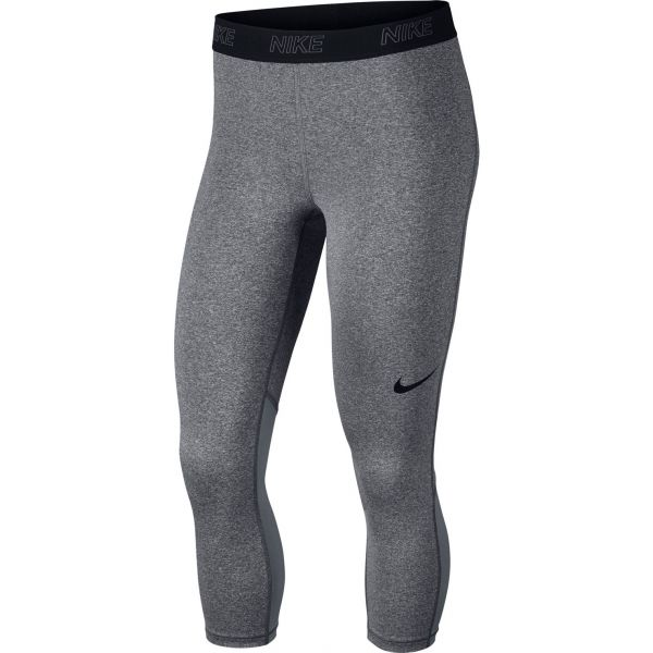 Nike VCTRY BSLYR CPRI šedá S - Dámské legíny