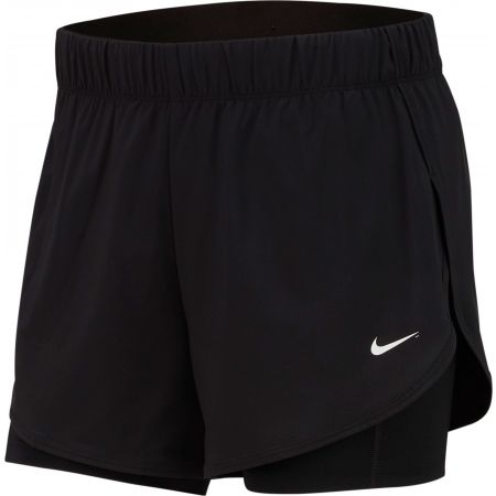 Damen Shorts - Nike FLX 2IN1 SHORT WOVEN - 1