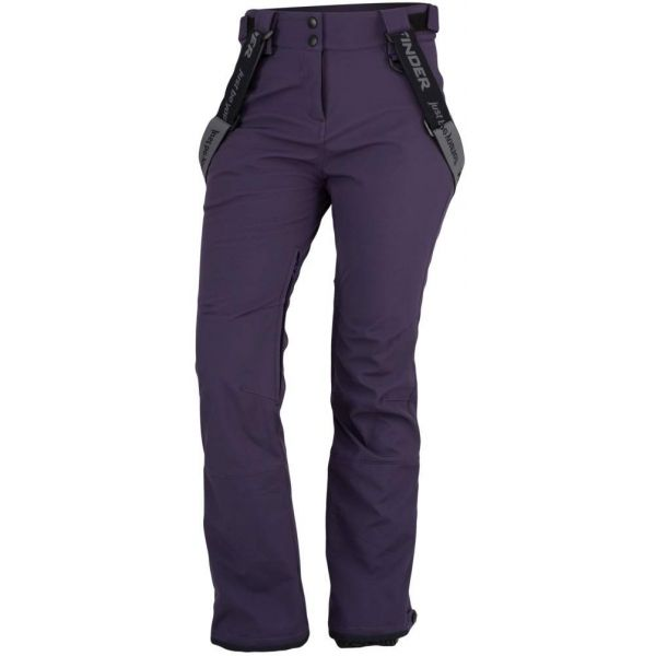 Northfinder ISABELA fialová XL - Dámske lyžiarske nohavice