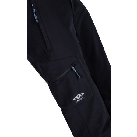 Pánske softshellové nohavice - Umbro ADAN - 4