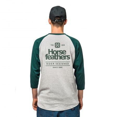 Pánské tričko - Horsefeathers CLAN LS T-SHIRT - 2