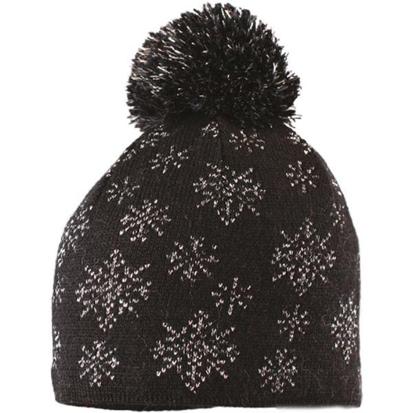 Starling SNOWFLAKE černá UNI - Zimní čepice