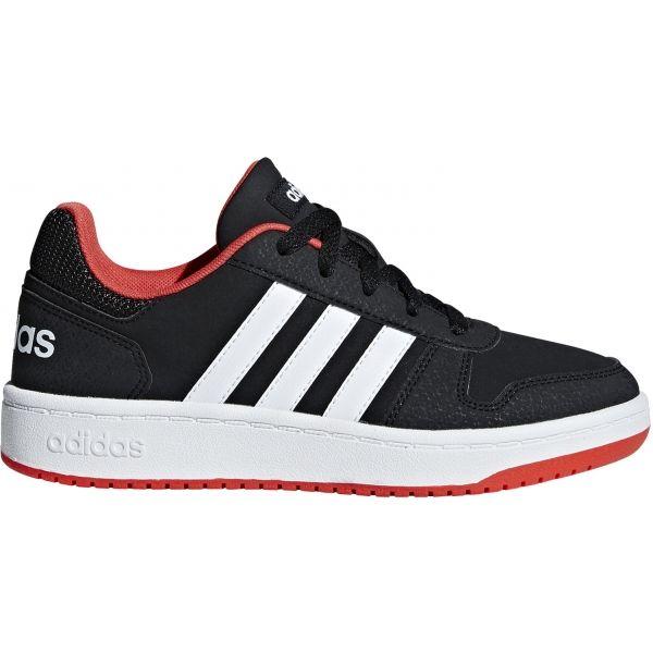 adidas HOOPS 2.0 K fekete 32 - Gyerek szabadidőcipő
