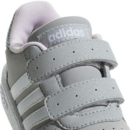 Detská obuv na voľný čas - adidas HOOPS 2.0 CMF I - 4