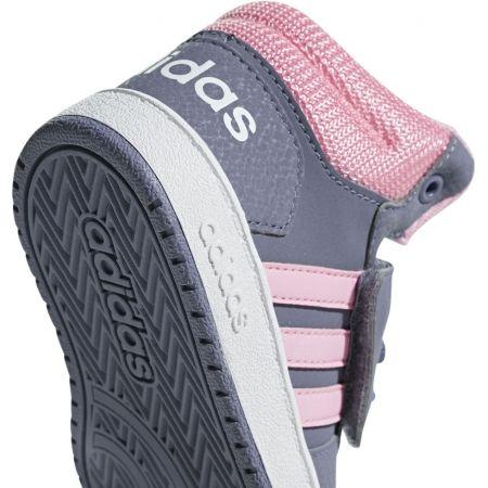 Детски обувки за свободното време - adidas HOOPS MID 2.0 I - 5