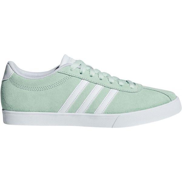 adidas COURTSET světle zelená 6.5 - Dámské volnočasové boty