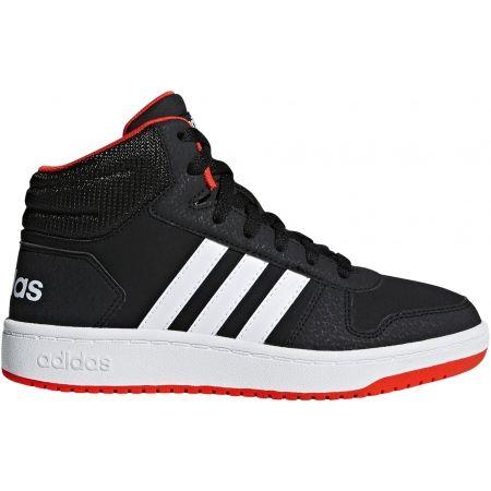 adidas HOOPS MID 2.0 K - Dětská volnočasová obuv