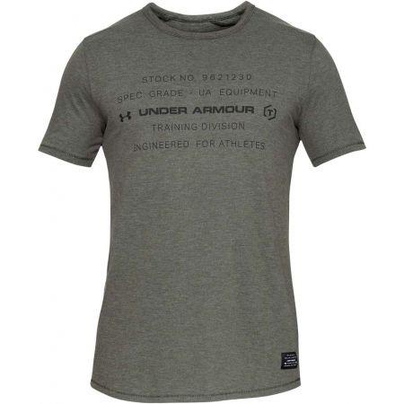Pánske tričko - Under Armour SPORTSTYLE TRIBLEND GRAPHIC - 1