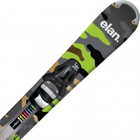 Allmountain sjezdové lyže - Elan FREELINE CAMO R TRACK + ESP 10 - 1
