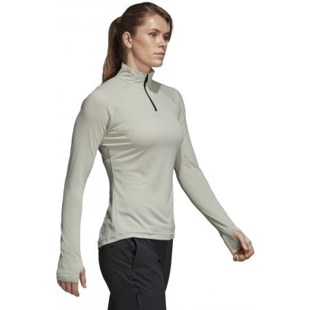 Dámské triko - adidas TRACERO 1/2LS ASHSIL - 6