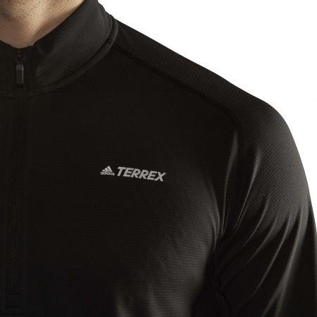 Pánske športové tričko - adidas TRACE ROCKER 1/2 LS - 11