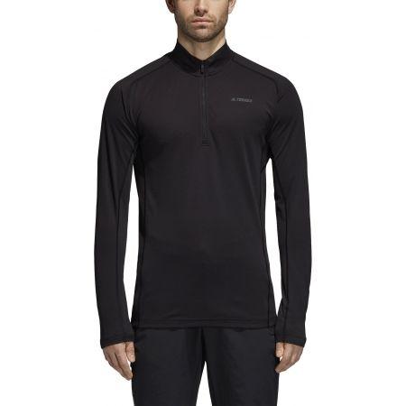 Pánske športové tričko - adidas TRACE ROCKER 1/2 LS - 3