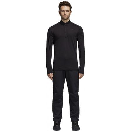 Pánske športové tričko - adidas TRACE ROCKER 1/2 LS - 8