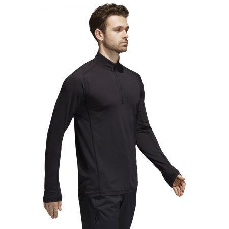 Pánske športové tričko - adidas TRACE ROCKER 1/2 LS - 6