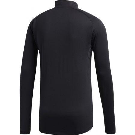 Pánske športové tričko - adidas TRACE ROCKER 1/2 LS - 2