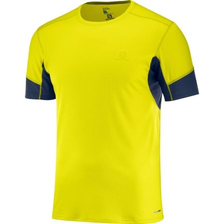 34f5f2f944c Pánské běžecké tričko - Salomon AGILE SS TEE M - 1